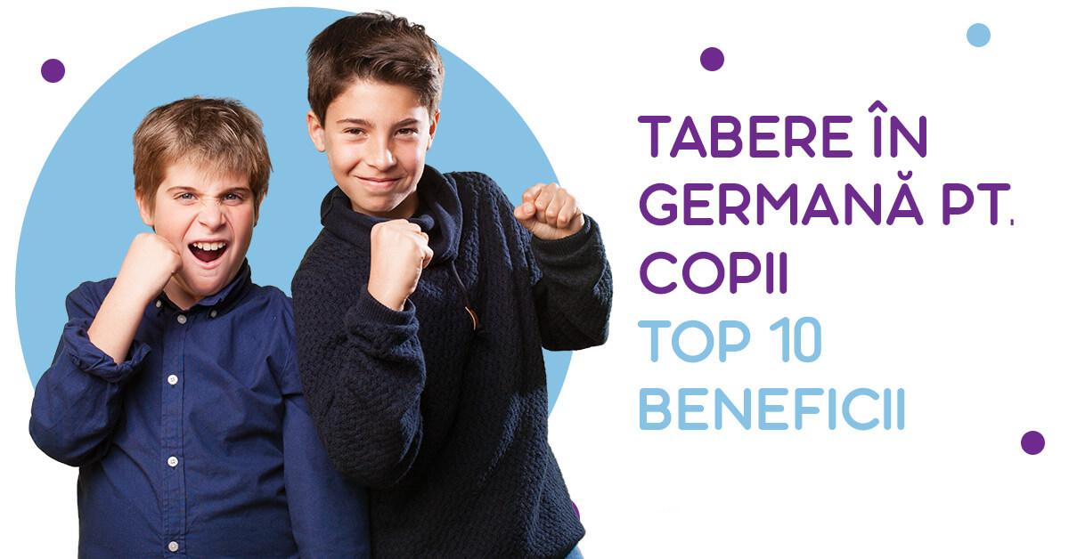 Tabere pentru copii in limba germana