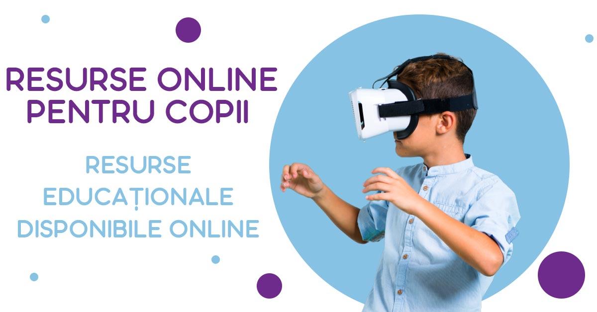 Resurse educaționale disponibile online