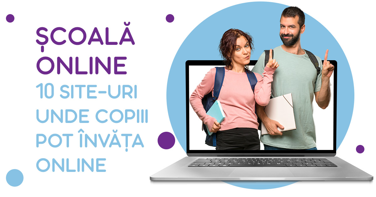 Școală online - site-uri unde poți învăța online