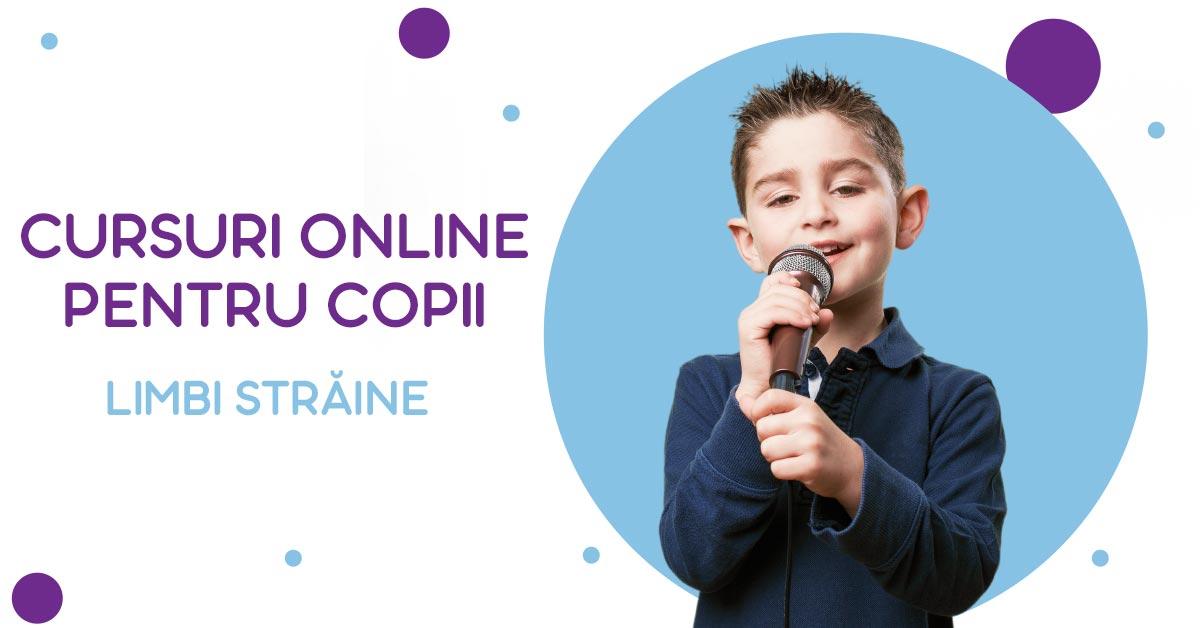 Cursuri online pentru copii - limbi străine