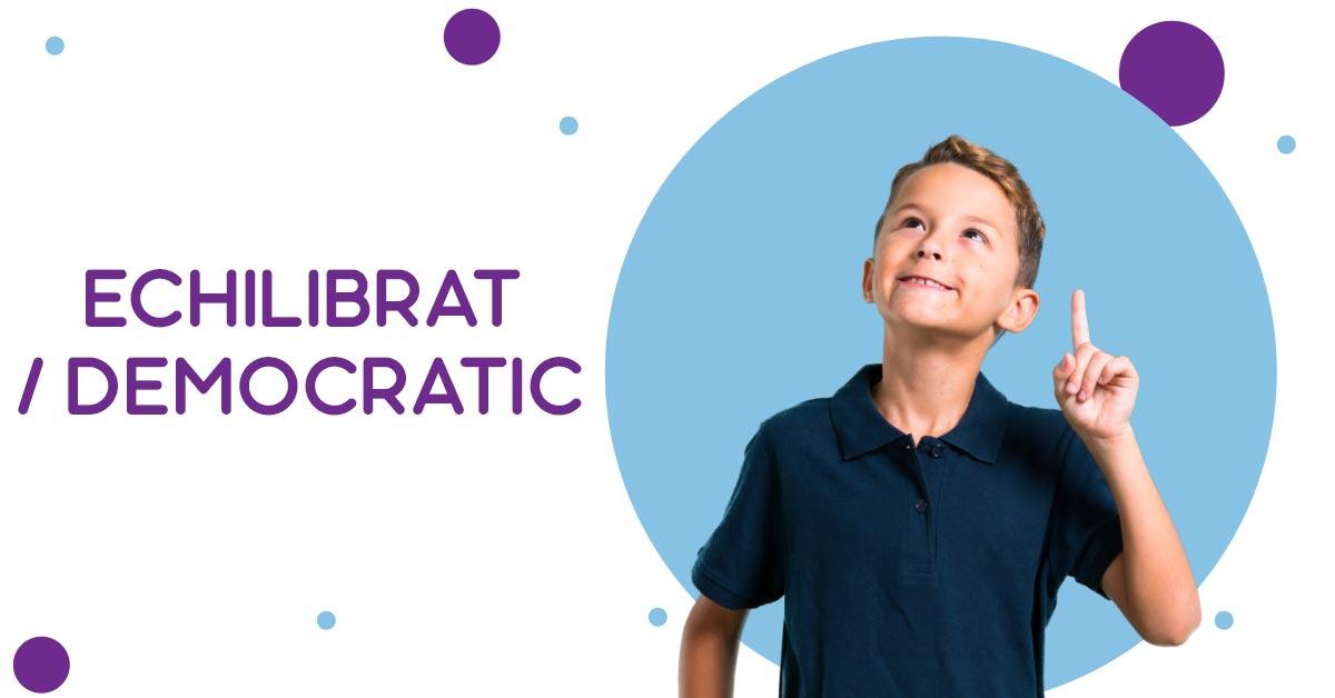 Echilibrat/democratic