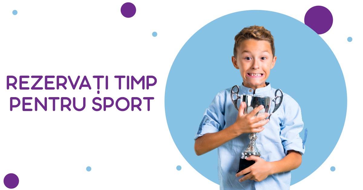 Rezervați timp pentru sport