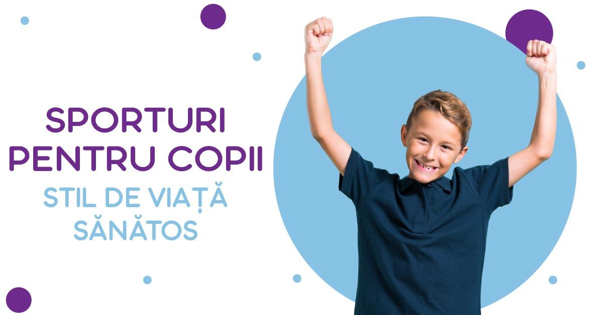 Sporturi pentru copii: stil de viață sănătos