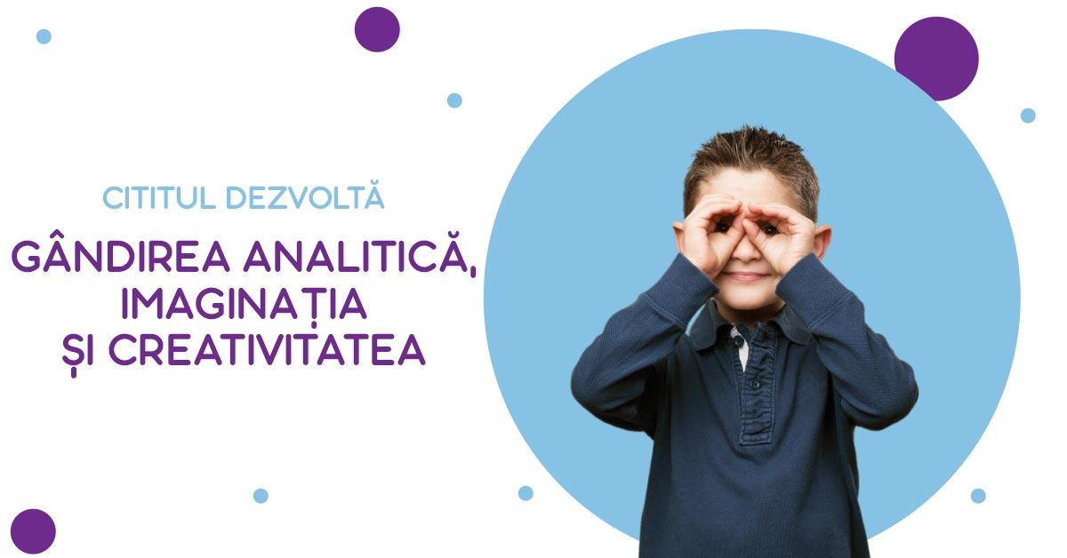 gândirea analitică, imaginația și creativitatea